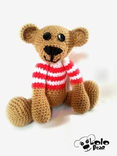 Crochet bear Libor :)