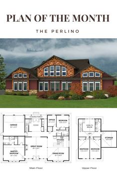 The Plan of the Month from Linwood Homes for December 2017 is the Perlino. With the master suite and an additional bedroom on the main floor with 2 additional bedrooms on the second floor, this home has plenty of space for the family. Linwood Homes offers over 400 designs that can be fully customized to suit your needs. www.linwoodhomes.com