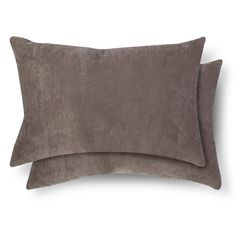 2 Pack Throw Pillow - Lumbar Grey - Room Essentials™