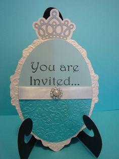 Frozen birthday party invitation set of 8. Disney by HappyToons, $24.00