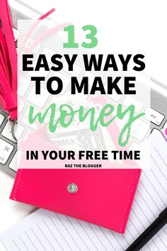 Would you like to make money from home but don't have enough time. This article shows you the different ways you can make easy money in your spare time. Make Quick Money, Make Money From Home, Make Money Online, Legit Work From Home, Work From Home Jobs, Online Jobs For Moms, Virtual Jobs, Instant Money, Creating Passive Income