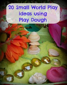 Sun Hats & Wellie Boots: 20 Small World Play Ideas using Play Dough Outdoor Activities For Kids, Toddler Activities, Learning Activities, Discovery Play, Playdough Activities, Toddler School, Small World Play, Messy Play, Sensory Bins