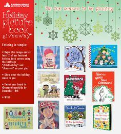 A Holiday picture book giveaway hosted by RH Kids!