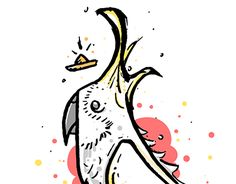 """Check out new work on my @Behance portfolio: """"Cacatua"""" http://be.net/gallery/55611127/Cacatua"""