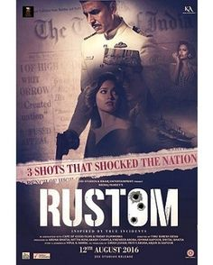 What are the 3 shots that changed India's history forever? Rustom is NOW SHOWING at Genesis Cinemas. Come in for a sensational movie experience! #GenesisDeluxeCinemas #Movies #Movie #Fun #Cinemas #Cinema #TheGenesisExperience #SensationalFamilyExperience #GenesisCinema
