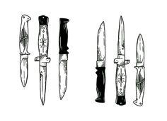 Kara's not a fan of guns. That's not to say she won't use them, but she prefers knives.