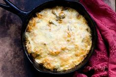 Cactus Casserole with Rice, Ancho Chiles and Cheese! Yum!