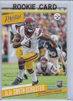 bb20926833f 2017 Prestige JuJu Smith Schuster Pittsburgh Steelers Sports Card No.245  PittsburghSteelers  Pittsburgh Steelers