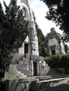 Staglieno Cemetery Genoa  Italy by johnshaun, via Flickr