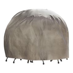Duck Covers Elite Round Patio Table & Chair Set Cover with Inflatable Airbag to Prevent Pooling, Round Table And Chairs, Round Dining Set, Table And Chair Sets, Round Tables, Patio Furniture Covers, Dining Furniture, Furniture Design, Outdoor Furniture, Chair Covers