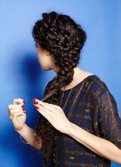 Unique Braided Hairstyles for Curly Hair