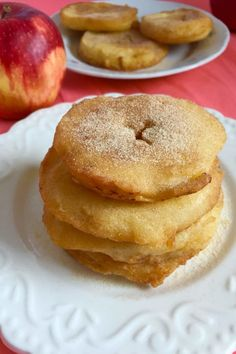 Hungarian apple fritters, alma pongyolában, such a delicious fruit dessert. Apple Fritter Recipes, Apple Recipes, Fall Recipes, Holiday Recipes, Hungarian Desserts, Hungarian Recipes, Hungarian Food, Hungarian Bread Recipe, Hungarian Cookies