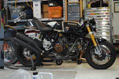 """motographite: DUCATI SPORT CLASSIC 1000 """"PROFILI ORO"""" THE DISTURBED ONE"""