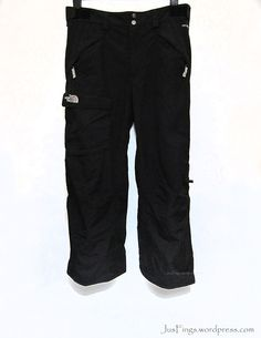 THE NORTH FACE Men's Ski Pants $160 Mens Ski Pants, Face Men, Freedom Of Movement, Winter Wear, Hand Warmers, Parachute Pants, Skiing, The North Face, Thighs