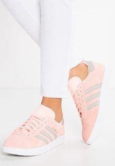 adidas Originals GAZELLE - Sneaker low - haze coral/clear granite/white -  Zalando