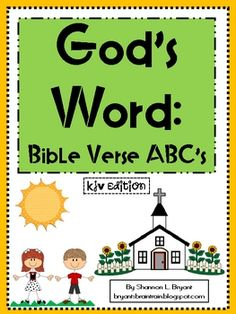 Bible ABC Verse Cards (KJV)