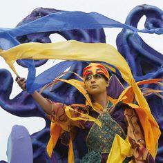 Macnas - Street procession Galway Ireland, Art Festival, Theatre, Princess Zelda, Street, City, Character, Theatres, Cities