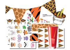 Djungelkalas - Tips & idéer för barnkalas med djungeltema - Barnkalas med djungeltema - Fira fest Party Food And Drinks, Mat, Grape Vines, Goodies, Birthday, Cards, Zoo Cake, Kid Birthdays, Tips
