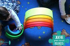 Jugar para crecer felices: El arco iris de Grimms