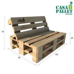 Casa Com Pallet - Produtos sustentáveis