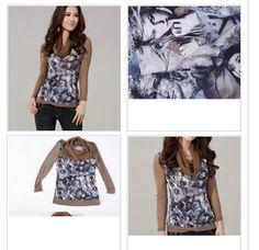 Sweet Style Long Sleeve Pile Collar Blouse Khaki - $21.08 on @ClozetteCo