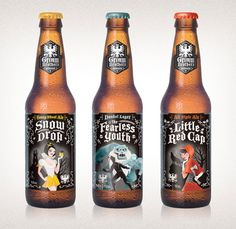 Are you thirsty? 50 genius and beautiful beer bottle designs - Blog of Francesco Mugnai