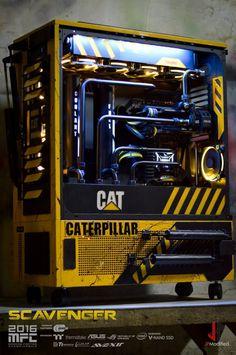 SCAVENGER : un hallucinant mod Caterpillar