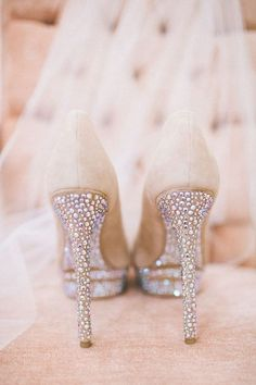 Brian Atwood Heels - Weddings My kind of shoe! Sparkle, Sparkle and more Sparkle! Bling Bling and Bling! Bridal Shoes, Wedding Shoes, Dream Wedding, Wedding Day, Bling Wedding, Wedding Dresses, Perfect Wedding, Prom Shoes, Glitter Wedding