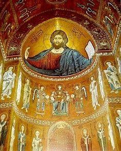 Byzantine church mosaic, unknown location