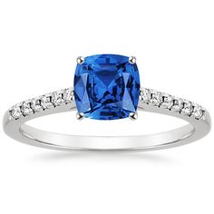 18K White Gold Sapphire Sonora Ring from Brilliant Earth