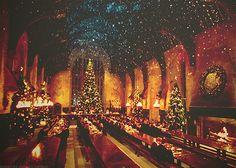 Christmas at Hogwarts <3