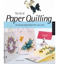The Art of Paper Quilling: Designing Handcrafted Gifts and Cards. Focusing on simple, elegant projects, this book offers paper crafters a complete technique guide along with step-by-step project ideas for making beautiful framed pieces, cards, and gifts. It features designs built upon simple rolled coils of paper that when grouped together, form intricate flowers, graceful butterflies, and delicate scrollwork.