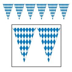 Set a date in advance to ensure that everyone one invited will have the chance to come to this years Oktoberfest party. Let everyone know where the party is going to be held by hanging the Oktoberfest Pennant Banner.