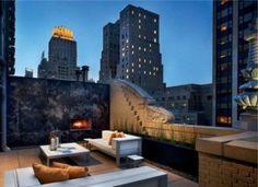rattanm bel dachterrasse holzfu boden k nstlicher rasen modern patio einrichtung garten und. Black Bedroom Furniture Sets. Home Design Ideas