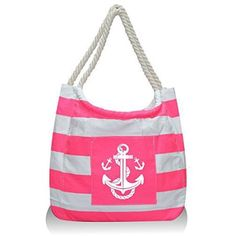 Wholesale S76A Large anchors canvas beach bag | Beach Bags ...