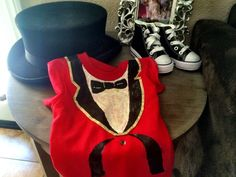 Circus Party Carnival Party first birthday boy: ring leader outfit