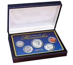Year to Remember 1965-2015 Commemorative Coin Set