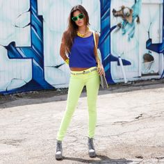 Check out Let's Go To Electric Avenue Look by Double Zero at DailyLook