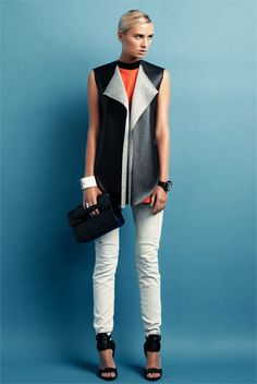 toni maticevski vest and g-star jeans