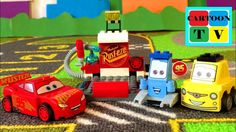 Lego Cars 3 Disney Pixar Lightning McQueen Pit Stop Cartoon for Kids Lightning Mcqueen, Cartoon Kids, Disney Pixar, Lego, Toys, Youtube, Activity Toys, Legos, Youtubers