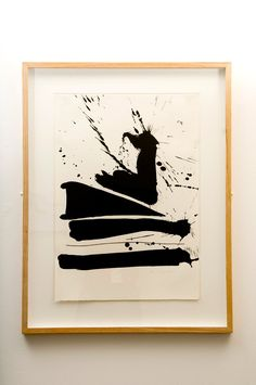 mid-century Husband & wife=power couple Robert Motherwell b. Provincetown Robert Motherwell was born. Robert Motherwell, Action Painting, Painting & Drawing, Cy Twombly, Cobra Art, Cleveland Museum Of Art, Realistic Paintings, Ink Paintings, Abstract Paintings