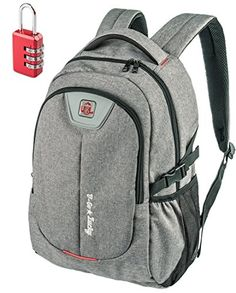Computer Backpack, Computer Bags, Travel Backpack, Laptop Bag, Canvas  Backpack, Anti Theft Backpack, 17 Inch Laptop, College Students, Laptop  Sleeves, ... 6d2300d459