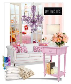 """""""Sweet Home"""" by lillili25 ❤ liked on Polyvore featuring interior, interiors, interior design, home, home decor, interior decorating, Dana Gibson, Décor Therapy, Creed and livingroom"""