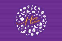 Happy Hallowen Kit by lisamoon on @creativemarket
