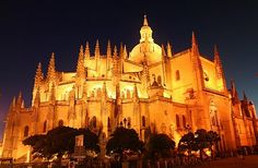 Segovia Cathedral, Segovia, Spain