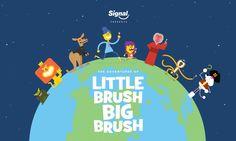 Signal Pepsodent & Little Brush, Big Brush – Contagious Communications