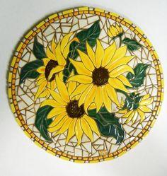 mosaic sunflowers