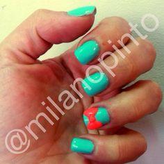 Decoracion 3D en uñas acrilicas Nails, 3d Nails, Natural Nails, Finger Nails, Ongles, Nail, Nail Manicure