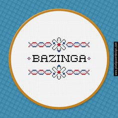 The Big Bang Theory Quote Cross Stitch PDF Pattern Download ***This is a pattern, NOT the finished product*** Fabric: 14 count Grid size: 98...
