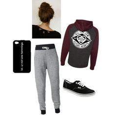 by maddie-medsker on Polyvore featuring polyvore fashion style Vans